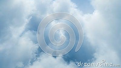 Boucle de nuages banque de vidéos