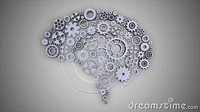 BOUCLE SANS COUTURE de Brain Gears Rotating