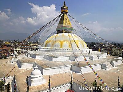 Boudhanath Buddhist Stupa - Kathmandu - Nepal