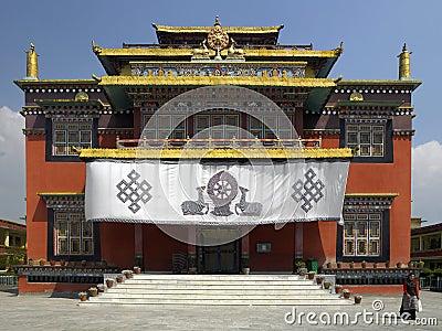 Boudhanath Monastery - Kathmandu - Nepal Editorial Stock Image