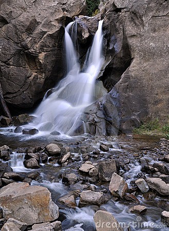 Boulder Falls in Boulder, Colorado