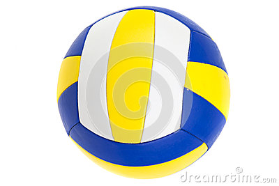 Boule de volleyball, d isolement