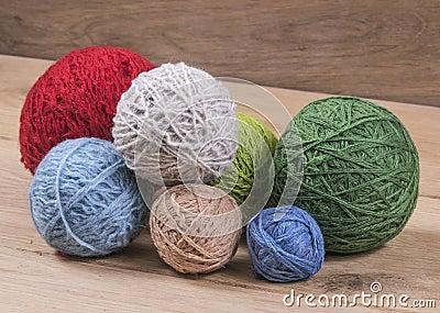 boules de laine photo stock image 49635491. Black Bedroom Furniture Sets. Home Design Ideas