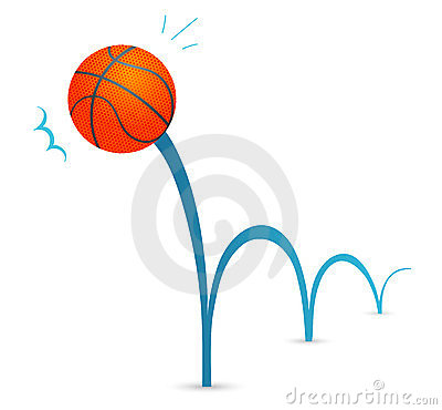 bouncing ball royalty free stock photo image 24172085