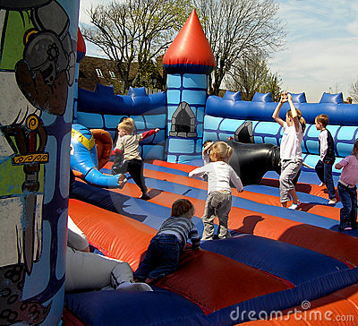 Free Bouncy Castle Stock Image - 126351