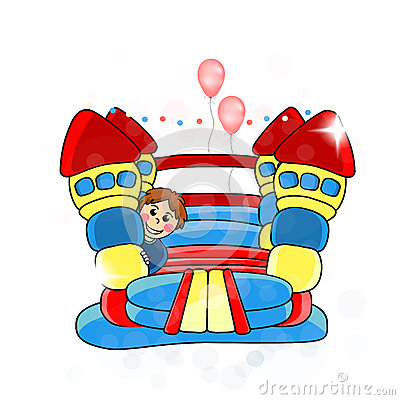 Bouncy castle - childrens entertainment