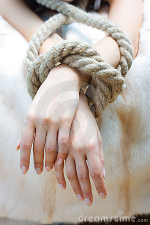 Free Bound Hands Stock Photography - 6247402