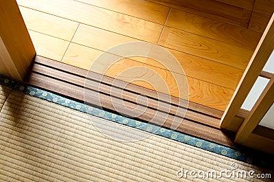 Boundary of floor