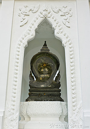 Boundary marker of a temple