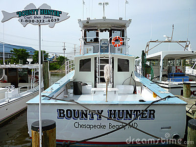 Bounty Hunter Charter Boat Editorial Image