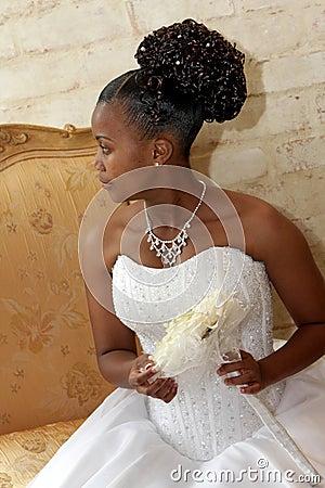 Free Bouq Bride Royalty Free Stock Image - 5743126