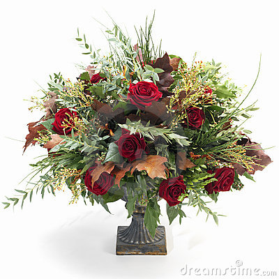Bouquet baroque d automne