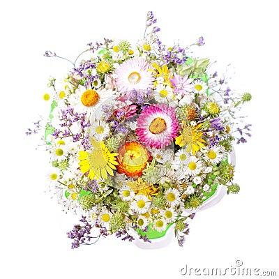 Bouquet des fleurs sauvages photo stock image 42908890 - Bouquet de fleurs sauvages ...