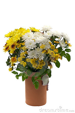 Bouquet in flower vase