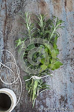 Bouquet Garni Fresh Herbs