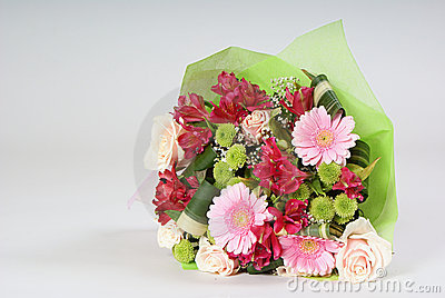 Bouquet of miscellaneous flowers