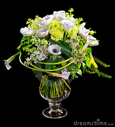 Free Bouquet Of Calla Lilias And Roses Royalty Free Stock Photo - 23335795