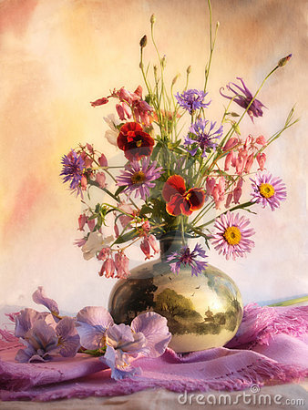 Free Bouquet Of Flowers Stock Photography - 11242342