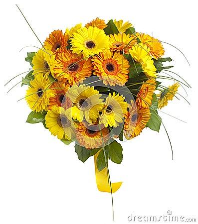 Free Bouquet Of Gerbera Flowers Stock Photo - 17517970