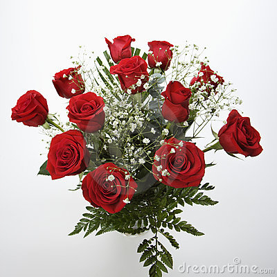 Free Bouquet Of Red Roses. Royalty Free Stock Photo - 2426245