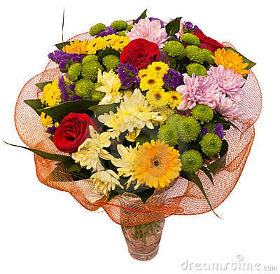 Free Bouquet Of Spring Flowers Royalty Free Stock Image - 20385206