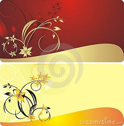 Bouquets of flowers. Decorative backgrounds