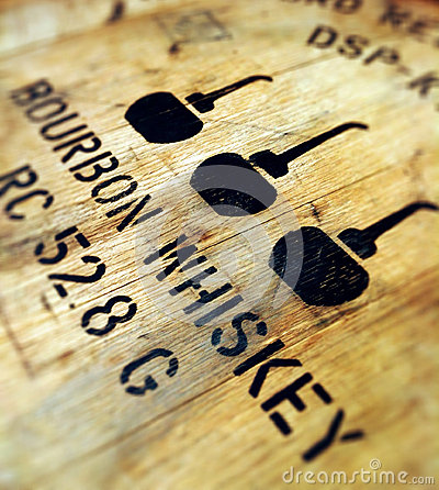 Free Bourbon Barrel Stock Image - 27967841