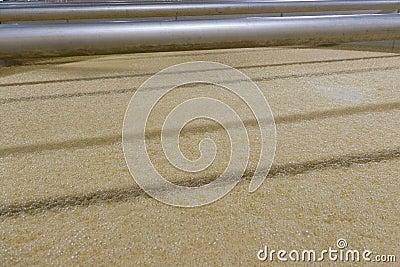Bourbon Corn Mash Fermenting In Distillery Royalty Free ...