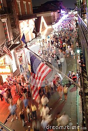 Free Bourbon Street Scene Stock Images - 664344