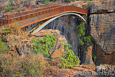 Bourke s Luck bridge, South Africa