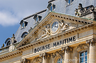 Bourse Maritime building, Bordeaux, France