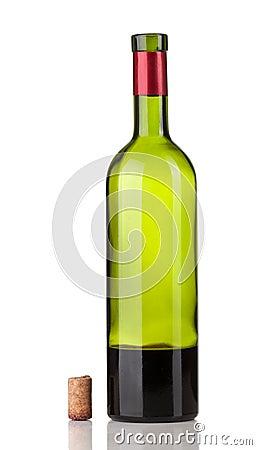 bouteille de vin vide photos libres de droits image 19046908. Black Bedroom Furniture Sets. Home Design Ideas