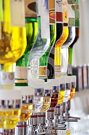 Bouteilles d alcool