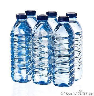 Bouteilles d eau