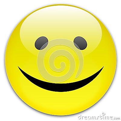 Bouton de sourire