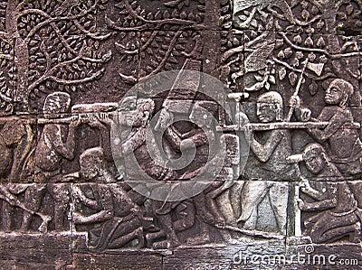Bouwers van Angkor