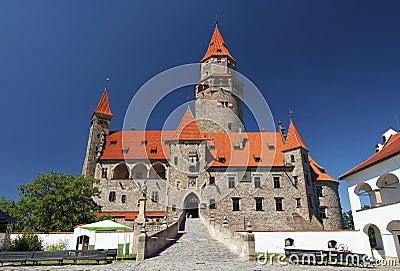 Bouzov castle