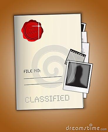 Bovenkant - geheim Dossier