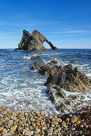 Free Bow Fiddle Rock, Scotland Royalty Free Stock Image - 20559136