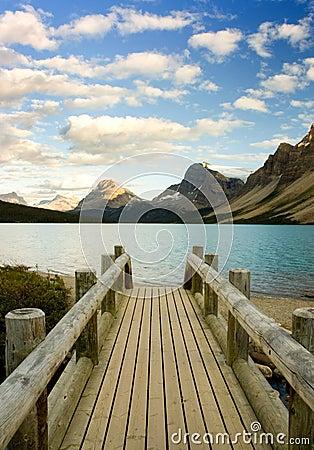 Free Bow Lake Alberta Royalty Free Stock Image - 3509756