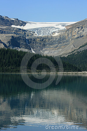 Bow Lake and Bow Glacier