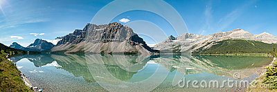 Bow Lake Panorama