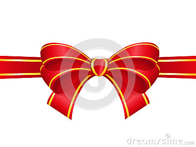 Bow Vector Illustration
