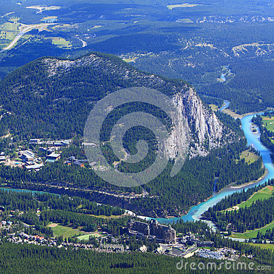 Free Bow River Valley Stock Images - 36350894