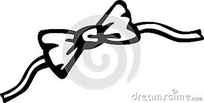 Bow tie vector illustration