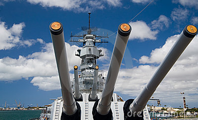 Bow of U.S.S. Missouri