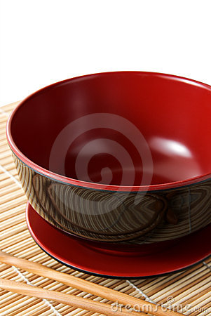 Free Bowl And Chopsticks Stock Image - 6688231