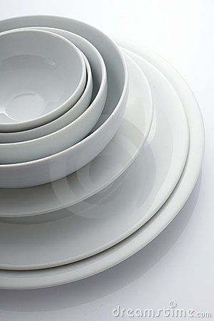 Free Bowl And Plate Stock Photo - 12918590