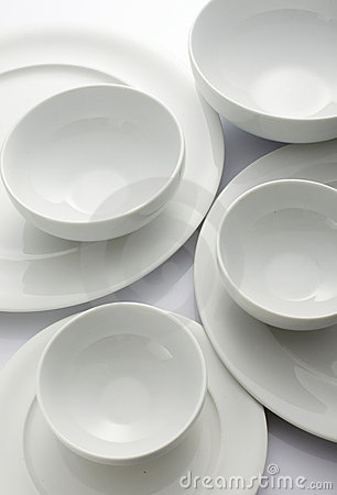 Free Bowl And Plate Stock Images - 13022664