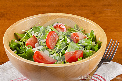 Bowl of Arugula Salad #1